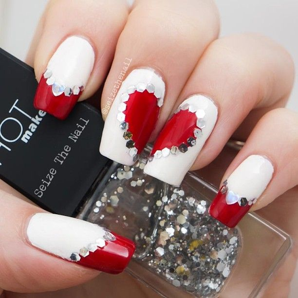 Picture Of awesome valentines day nails ideas  26