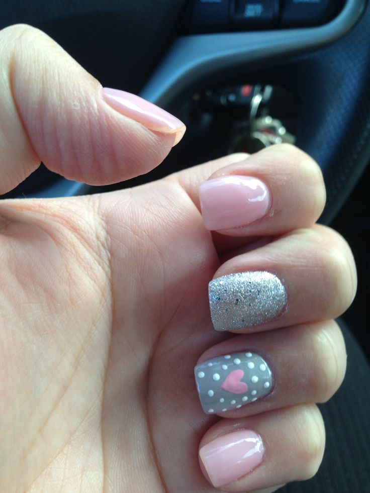 Picture Of awesome valentines day nails ideas  30