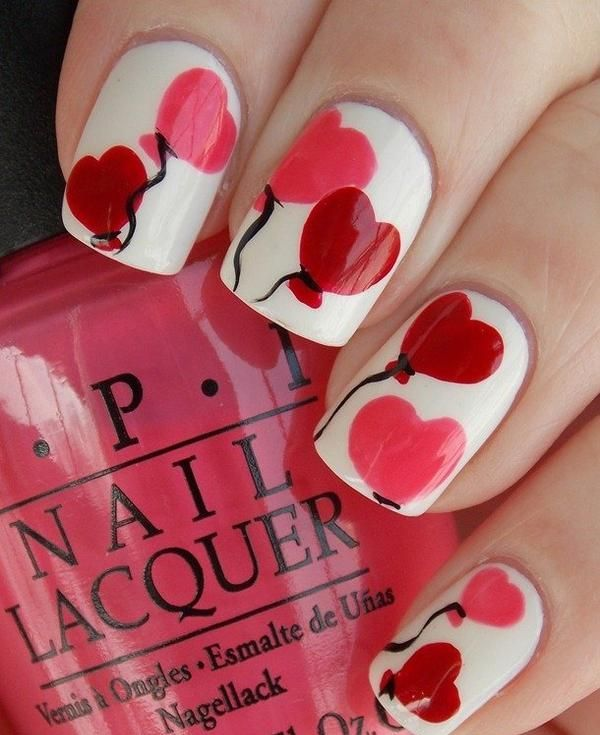 Picture Of awesome valentines day nails ideas  5