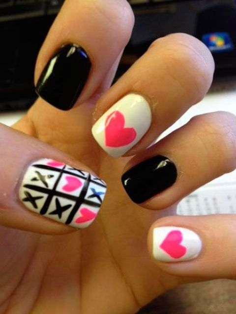 Picture Of awesome valentines day nails ideas  6