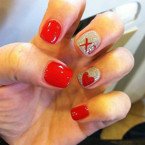 30 Awesome Valentine's Day Nails Ideas