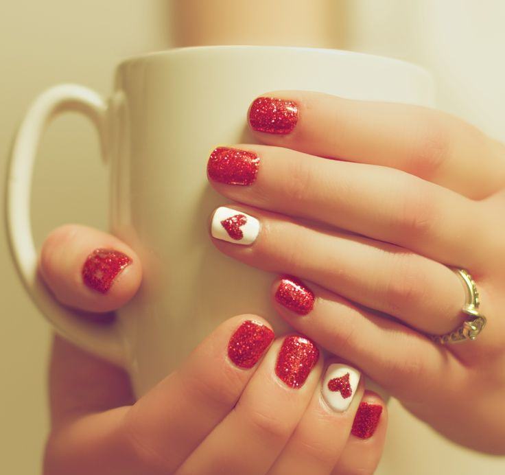 Picture Of awesome valentines day nails ideas  9