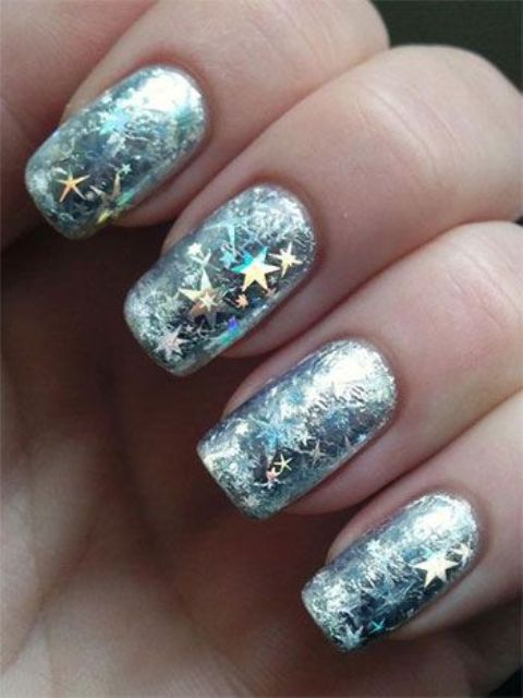 Picture Of Awesome Winter Nail Art Ideas 10