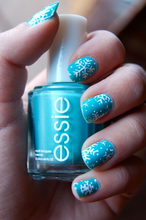 Picture Of awesome winter nail art ideas  19