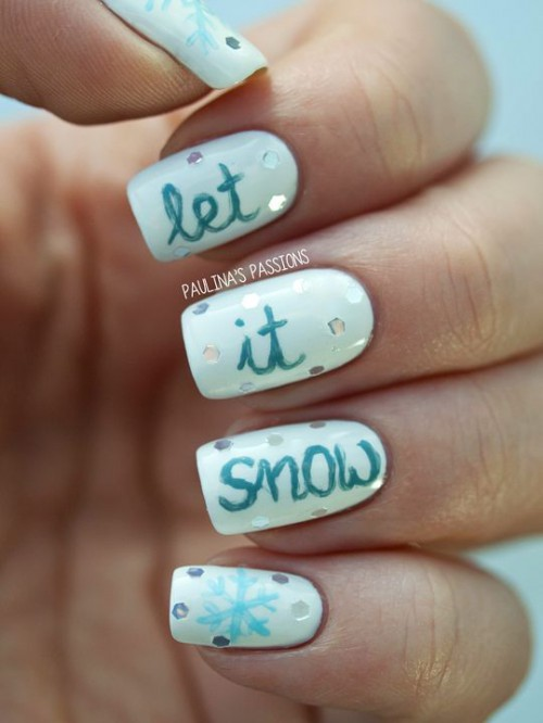 Awesome Winter Nail Art Ideas