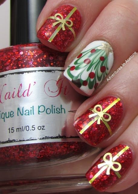 Picture Of awesome winter nail art ideas  24