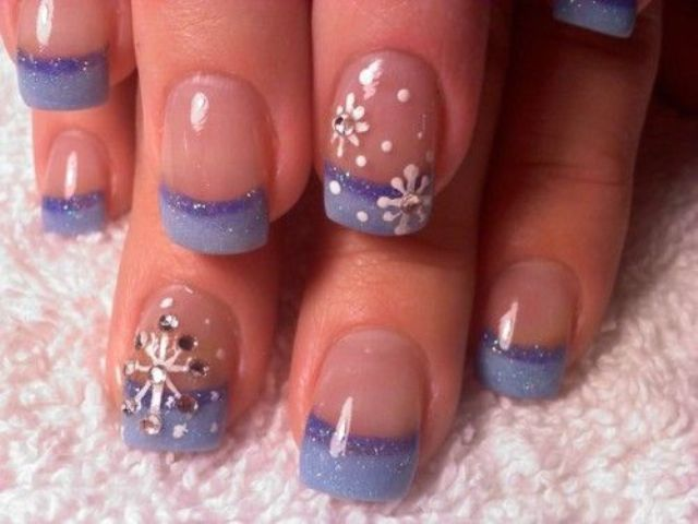 Picture Of awesome winter nail art ideas  25