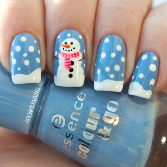 Picture Of awesome winter nail art ideas  3