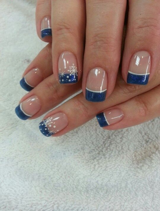 Picture Of awesome winter nail art ideas  4