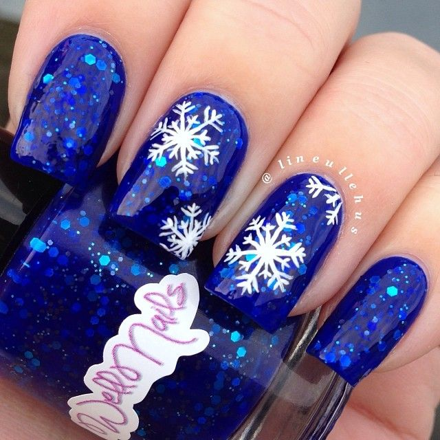 Picture Of awesome winter nail art ideas  9