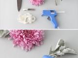 beautiful-and-fresh-diy-flower-hair-accessory-2