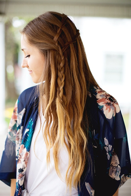 16 Beautiful DIY Braided Boho Chic Hairstyles