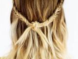 boho knot braid