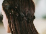 knotted braid halo