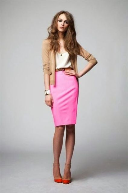 Picture Of beautiful pink work outfits for girls  1
