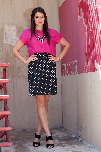 Beautiful Pink Work Outfits For Girls