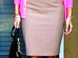 beautiful-pink-work-outfits-for-girls-5