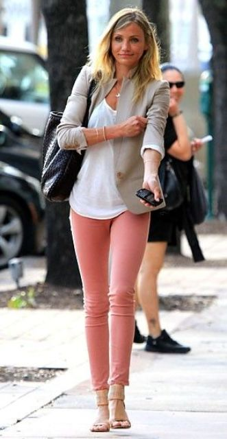 Picture Of beautiful pink work outfits for girls  6