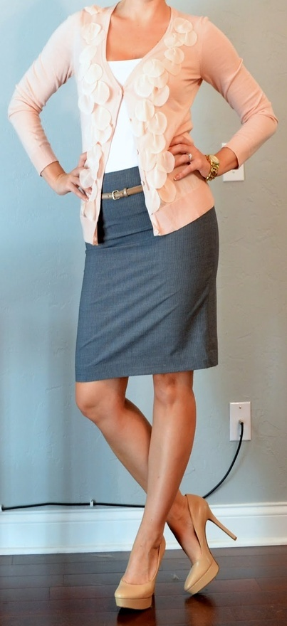 Picture Of beautiful pink work outfits for girls  7