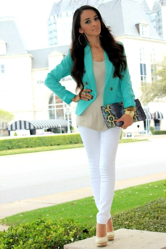 Picture Of beautiful turquoise and teal outfits for girls  1