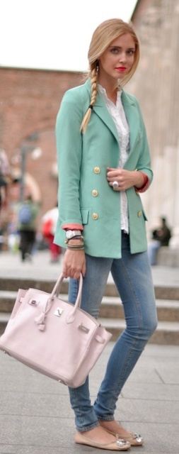 Beautiful Turquoise And Teal Work Outfits For Girls