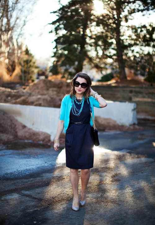Picture Of beautiful turquoise and teal outfits for girls  7