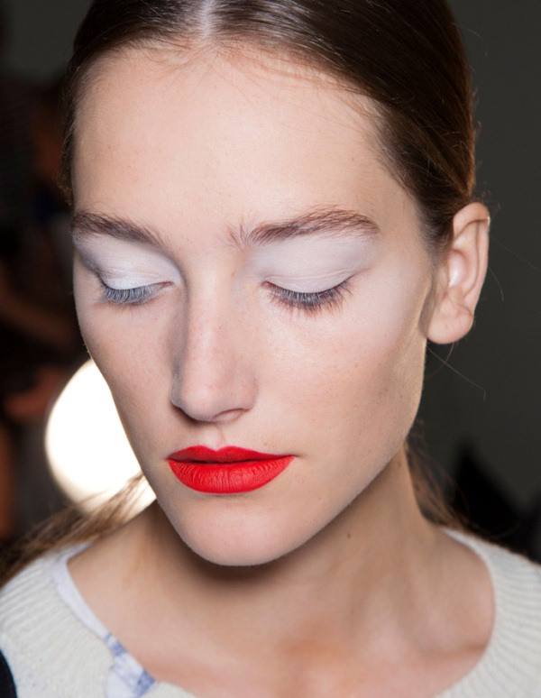 Picture Of beauty trend report makeup trends from ss 2014 new your fashion week  1