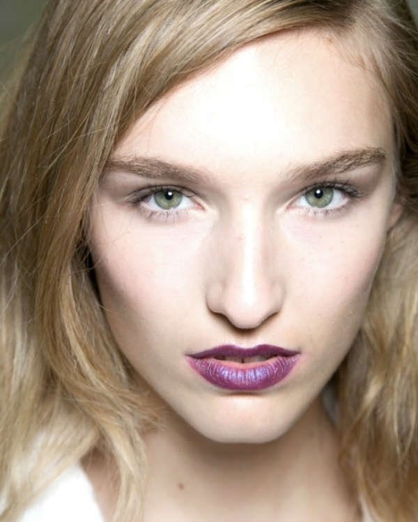 Picture Of beauty trend report makeup trends from ss 2014 new your fashion week  12