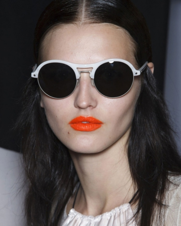 Picture Of beauty trend report makeup trends from ss 2014 new your fashion week  14