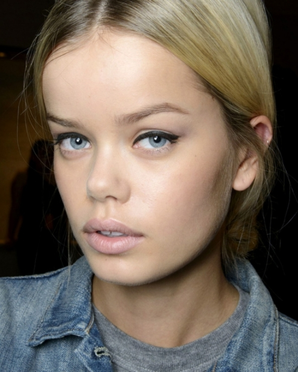 Picture Of beauty trend report makeup trends from ss 2014 new your fashion week  16