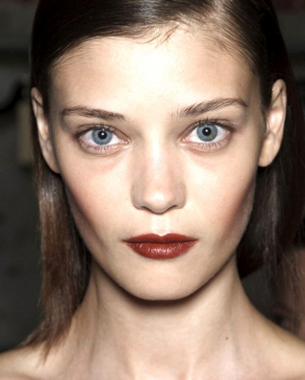 Picture Of beauty trend report makeup trends from ss 2014 new your fashion week  8