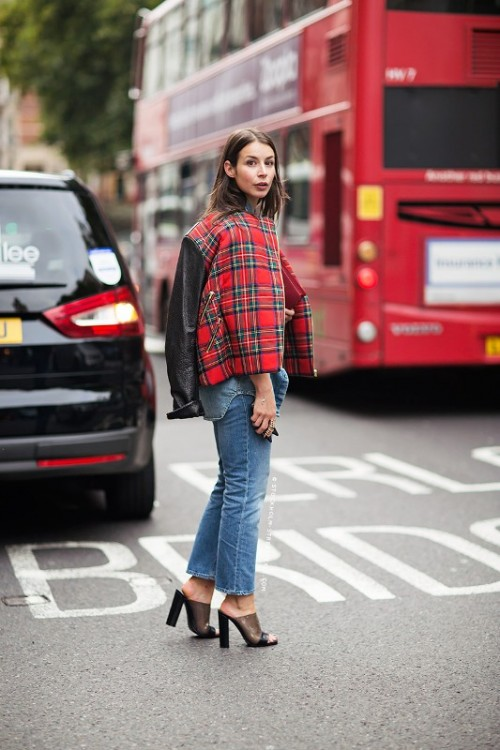 Picture Of best stylish plaid style october 2013