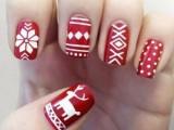 best winter nail art 2014