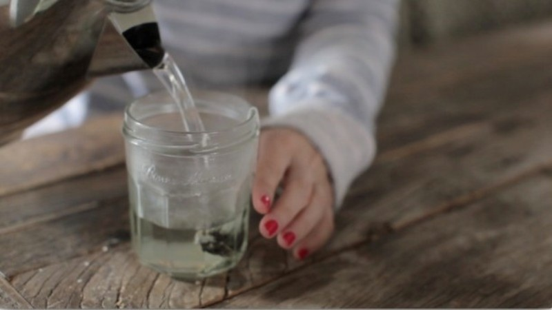 Picture Of beyond simple and effective diy green tea face scrub  2