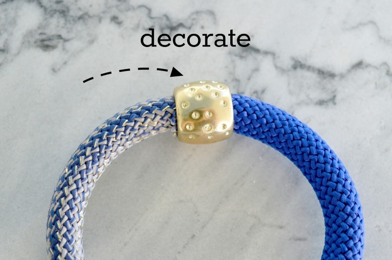 Picture Of bold and cheerful diy bracelets for summer  4