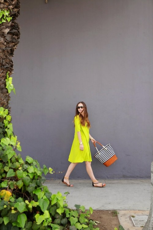 Bright And Pretty DIY Summer Swing Dress