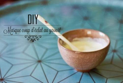 Brightening DIY Yoghurt Face Mask