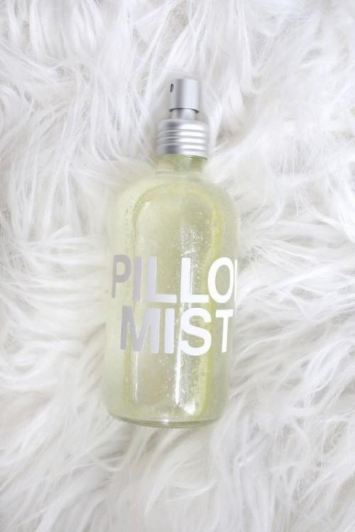 Calming DIY Pillow Mist To Sleep Well