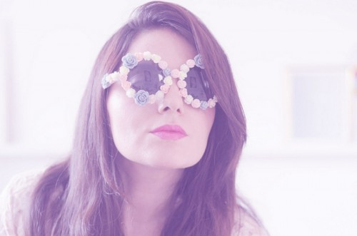 Candy Like DIY Flower Sunglasses Upgrade For Summer