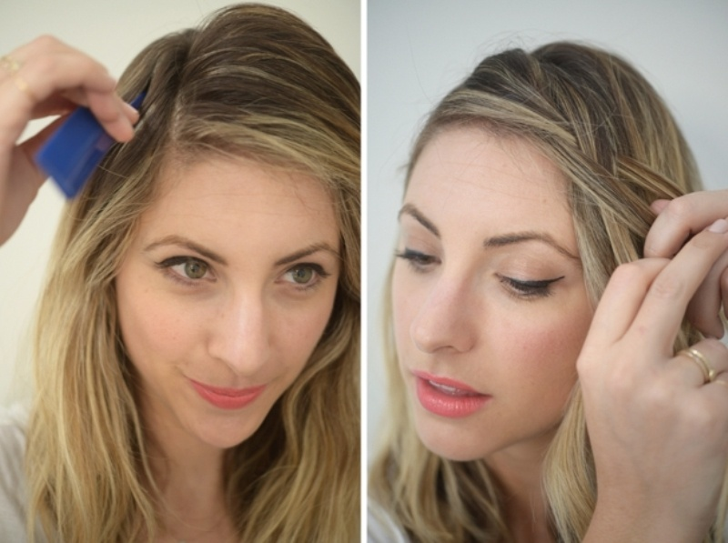 Picture Of casual and fuss free diy side braid  2
