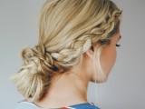 casual-diy-double-dutch-braid-bun-hairstyle-1