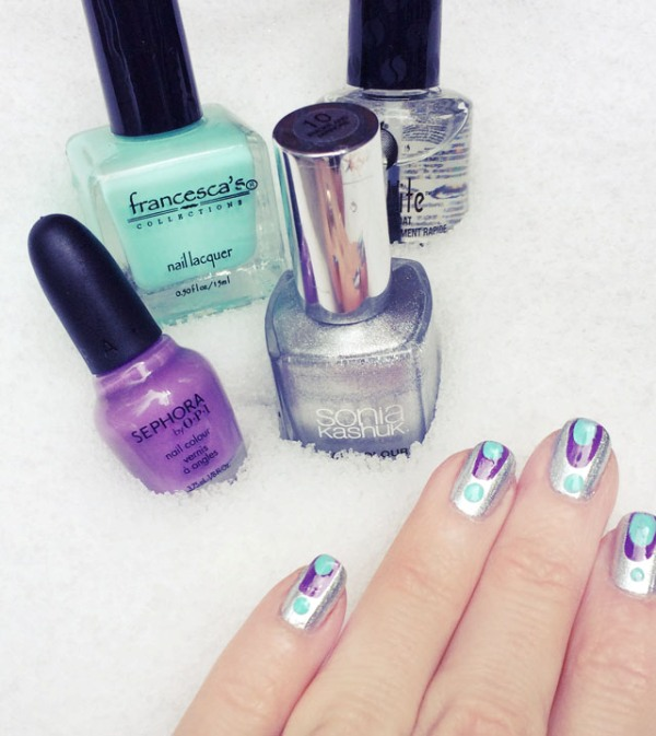 Picture Of catchy and fun diy nail art to try  2
