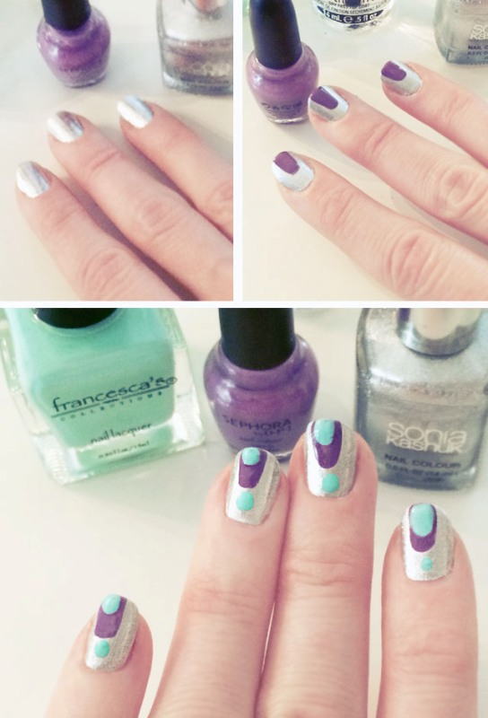 Picture Of catchy and fun diy nail art to try  3