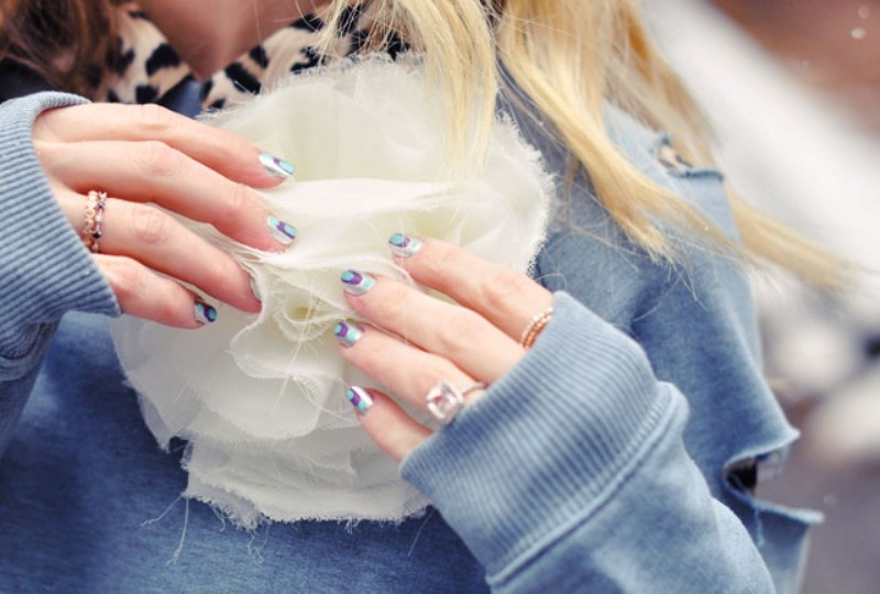 Picture Of catchy and fun diy nail art to try  4