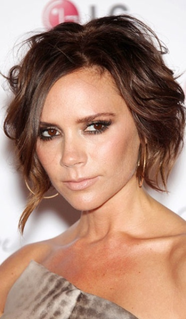 Picture Of celebrities brown hair ideas that you gonna love  15