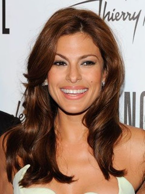 Picture Of celebrities brown hair ideas that you gonna love  23