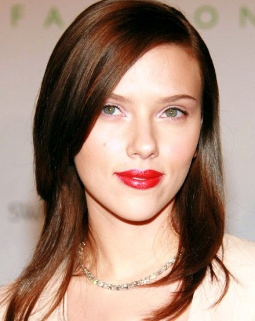 Picture Of celebrities brown hair ideas that you gonna love  29
