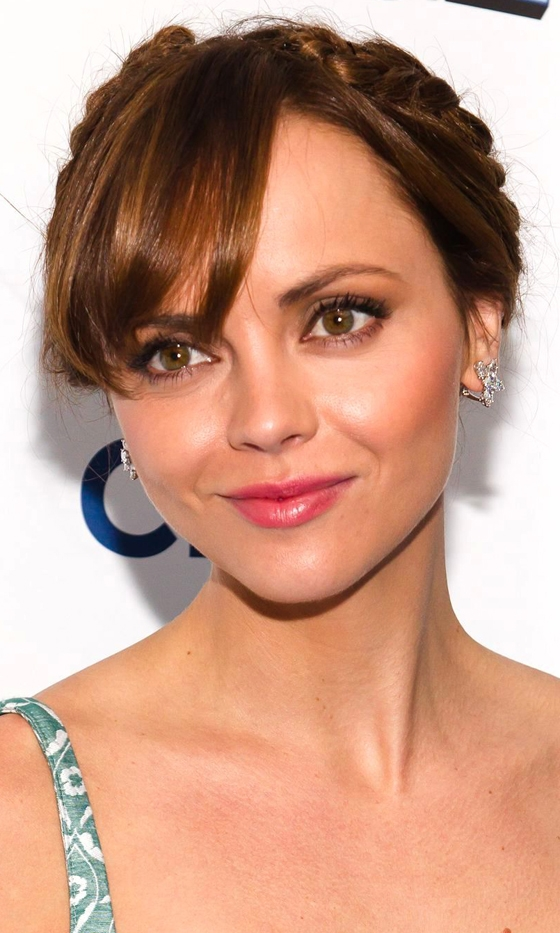 Picture Of celebrities brown hair ideas that you gonna love  6