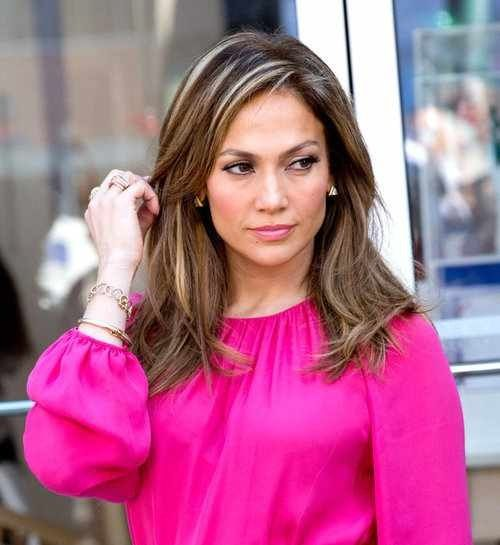 Picture Of celebrities brown hair ideas that you gonna love  8