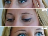 charming-diy-cat-eye-makeup-with-a-liquid-liner-3